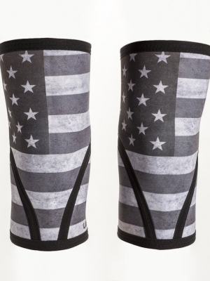 Stars and Stripes Knee Sleeves !OLD STYLE LAATSTE MAAT XS!