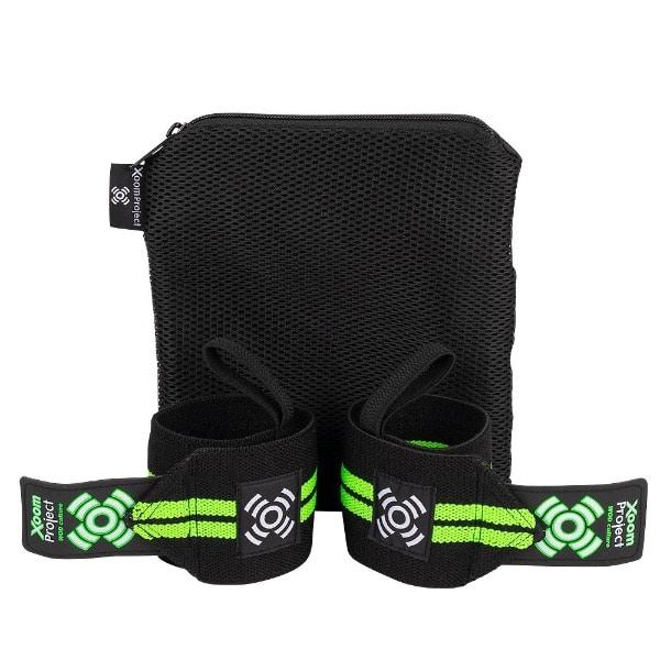 velcro-wrist-wrap-black-green-hetwodwinkeltje.nl