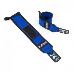 xoom prroject-velcro-wrist-wrap-blue-black