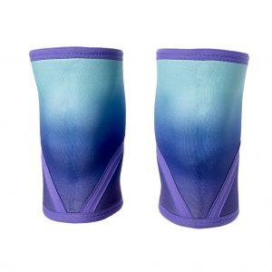 Purple-Ombre-Knee-Sleeves