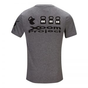 Pacman T-Shirt Grey Xoom Project 'Back to the 80s Collection'