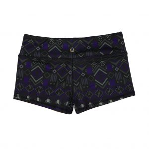 Violet Tribe Shorts Unbroken Designs