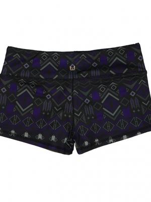 Violet Tribe Shorts Unbroken Designs