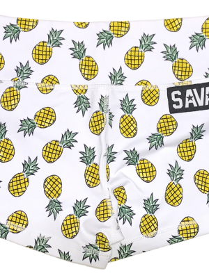 Pineapple Express Savage Barbell Booty Shorts