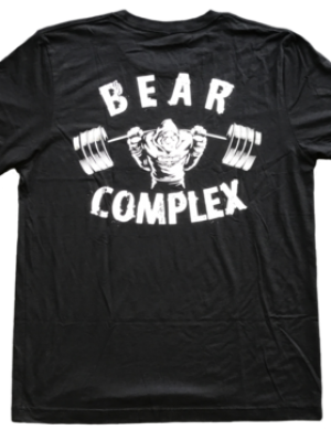 Bear Complex Men's T-Shirt Savage Barbell