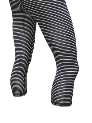 Jailhouse Savage Barbell Capri Leggings