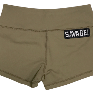 Army Savage Barbell-Booty-Shorts