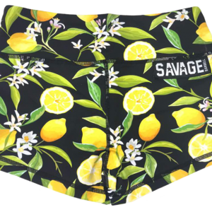 Lemon-Drop-Savage-Barbell-Booty-Shorts