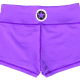 Purple-Savage-Barbell-Booty-Shorts