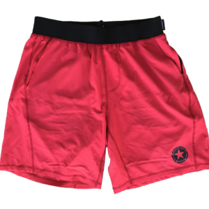 Gym-Rat-Red-&-Black-Shorts-Savage-Barbell