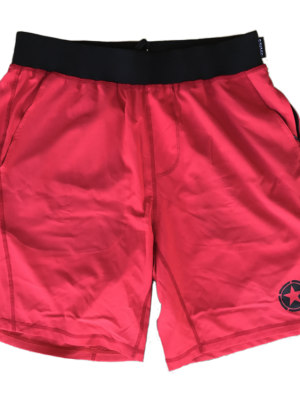 Gym Rat Red & Black Shorts Savage Barbell