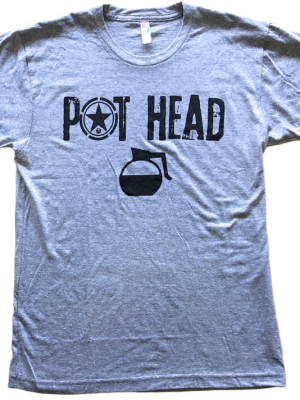 Pot Head Men's T-Shirt Savage Barbell !!LAATSTE MATEN XL!!