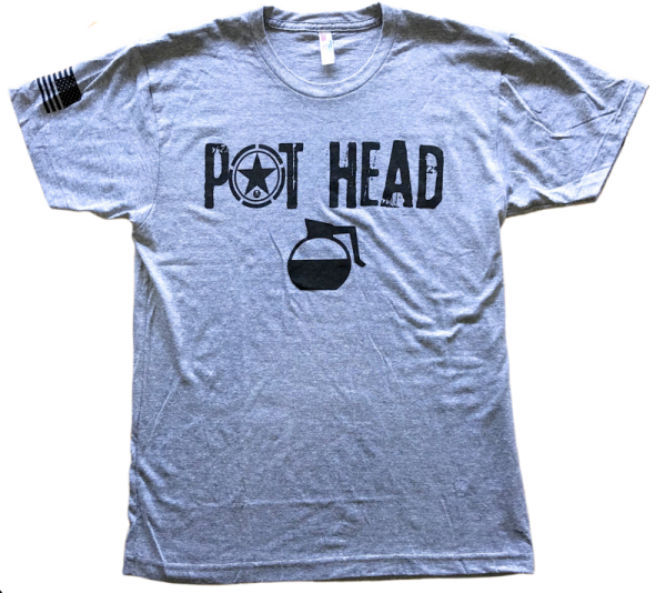 Pot-Head-Men's-T-Shirt-Savage-Barbell