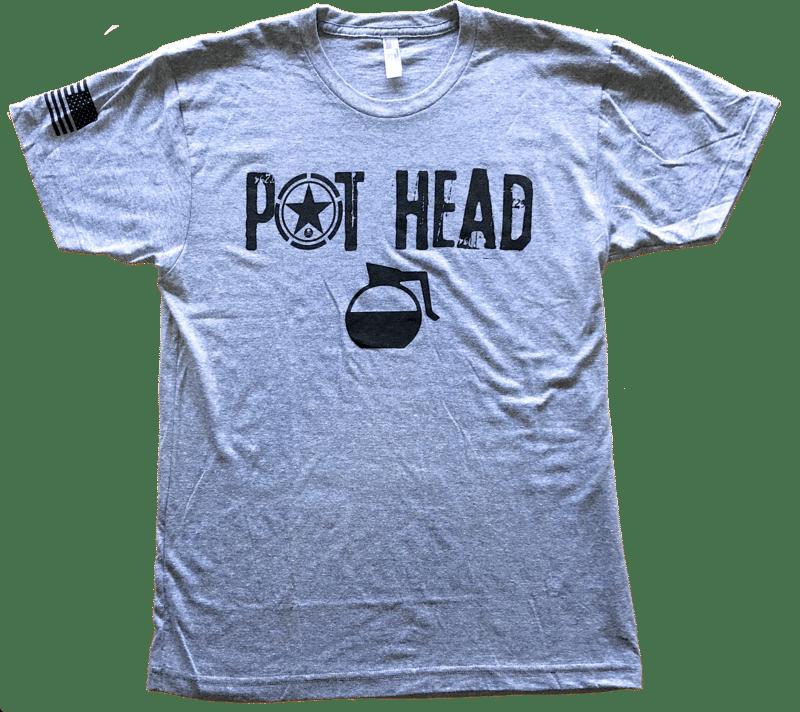 2162cc4b Pot Head Men's T-Shirt Savage Barbell - Het Wodwinkeltje