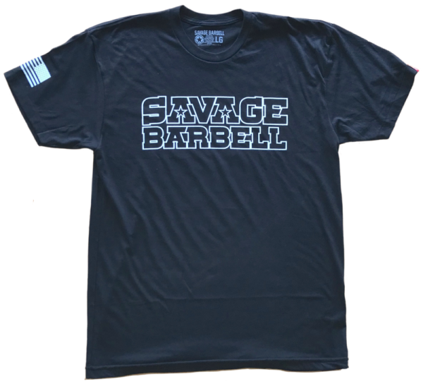 Suicide-Squad-Men's-T-Shirt-Savage-Barbell