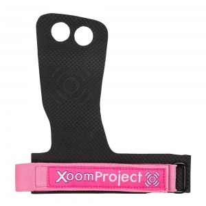 Carbon-Black-and-Pink-2-fingers-Wod-Gymnastic-Grip