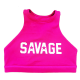 Atomic-Raspberry-High-Neck-Sports-Bra-Savage-Barbell