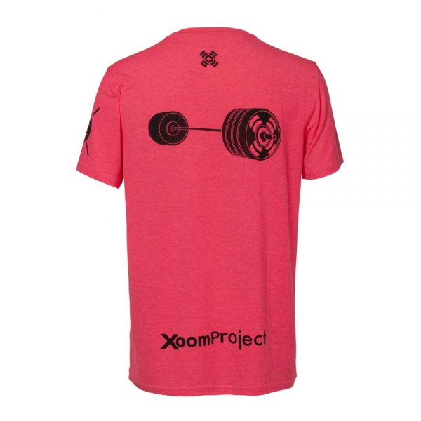 Ignore-Limits-Pink-barbell-T-Shirt