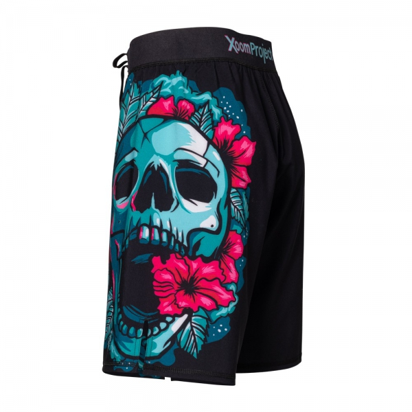 skull-flowers-ultra-light-shorts