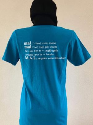 MALwoordenboek Shirt herenMAL#doeismal