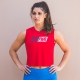 Red-GIRLPOWER-Savage-Barbell-Cut-Off-Tee