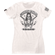 Womens-T-Shirt-Suicide-Squad-White-Savage-Barbell