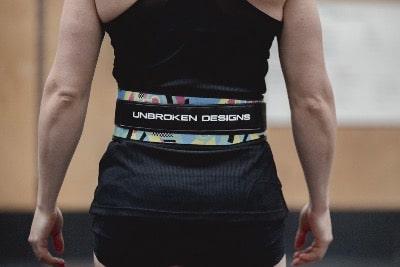 Swirls-for-Girls-Velcro-Weightlifting-belt-hetwodwinkeltje.nl