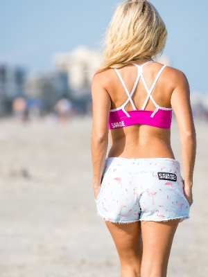 Flamingo Chiller shorts Savage Barbell !!NEW!!