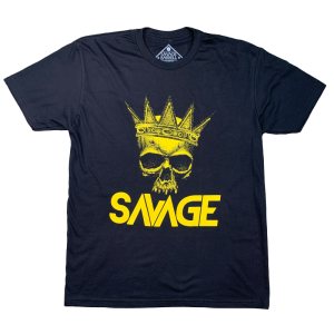 The-King-t-shirt-savage-barbell-hetwodwinkeltje.nl