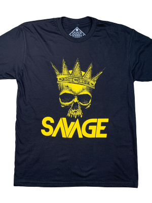 The King Savage Barbell T-shirt