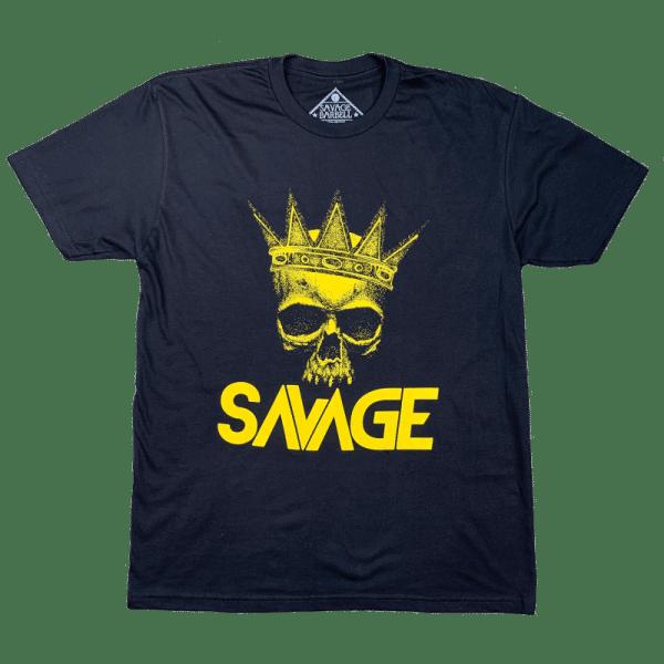 The-King-t-shirt-savage-barbell-hetwodwinkeltje.nl